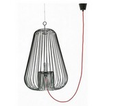 Lampe suspension Cage